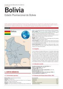 Bolivia Estado Plurinacional de Bolivia