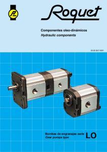 Bombas de engranajes serie Gear pumps type