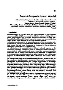 Bone: A Composite Natural Material