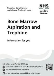 Bone Marrow Aspiration and Trephine
