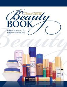 Book. SenseCosmetics & SeneDerm SkinCare
