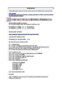 booking.com 1) Se debe saber cuales son las equivalencias para las habitaciones, eso nos lo da: