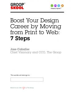 Boost Your Design Career by Moving from Print to Web: 7 Steps