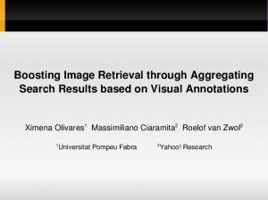 Boosting Image Retrieval through Aggregating Search Results based on Visual Annotations