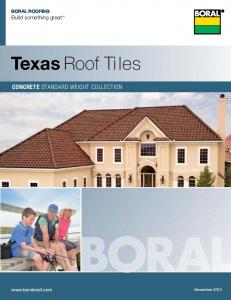 Boral roofing Build something great. Concrete Roof Tiles. Texas Roof Tiles. ConCrete standard weight collection