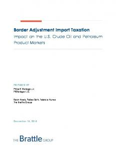 Border Adjustment Import Taxation