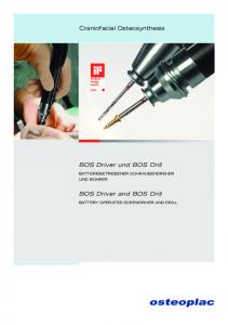 BOS Driver und BOS Drill