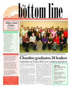 bottom line the Chamber graduates 28 leaders