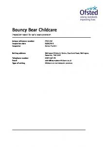 Bouncy Bear Childcare