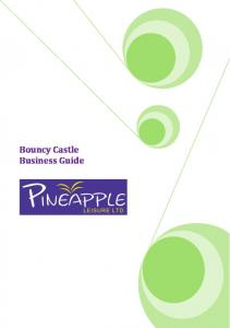 Bouncy Castle Business Guide