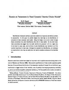 Bounds on Parameters in Panel Dynamic Discrete Choice Models