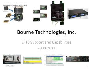 Bourne Technologies, Inc. EFTS Support and Capabilities