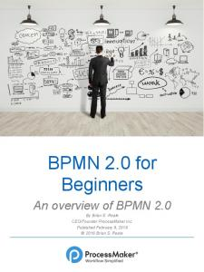 BPMN 2.0 for Beginners