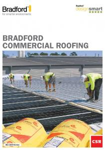 Bradford Commercial roofing