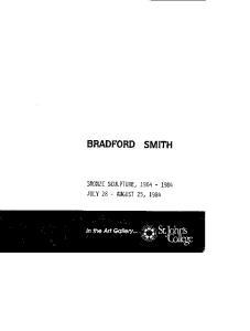 BRADFORD SMITH BRONZE SCULPTURE,