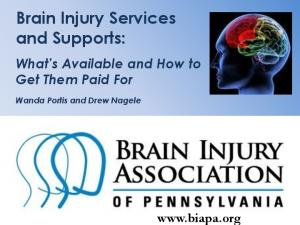 Brain Injury Services and Supports: