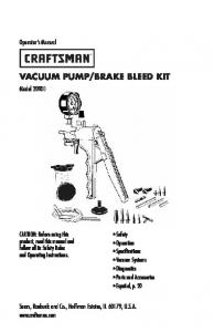 BRAKE BLEED KIT