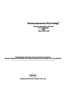 Bramka sterownika PLC Prodigy