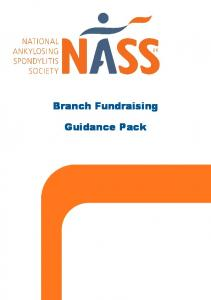 Branch Fundraising. Guidance Pack