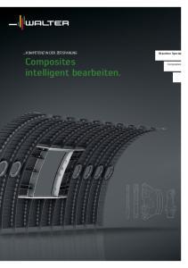 Branchen Special. Composites. Composites. intelligent bearbeiten