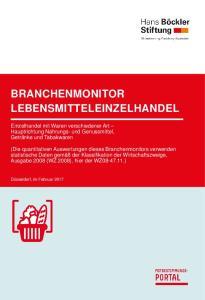 BRANCHENMONITOR LEBENSMITTELEINZELHANDEL