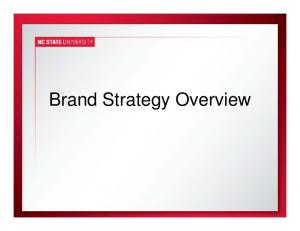 Brand Strategy Overview