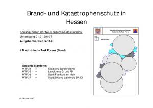Brand- und Katastrophenschutz in Hessen
