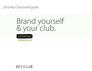 Brand yourself & your club
