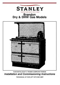 Brandon Dry & DHW Gas Models