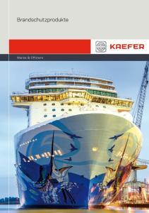Brandschutzprodukte. Marine & Offshore