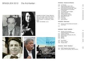 BRASILIEN 2013 Die Architekten