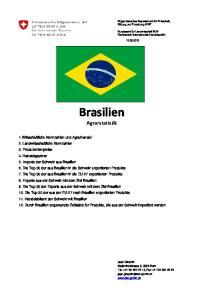 Brasilien. Agrarstatistik