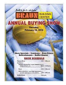 Braun Building Center 2012 Buying Show