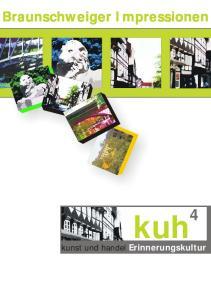 Braunschweiger Impressionen. kuh 4. kunst und handel Erinnerungskultur