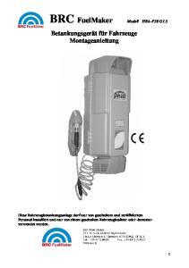 BRC FuelMaker Modell HRA-P30 G1.5
