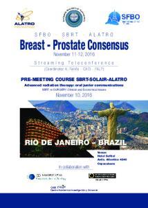 Breast - Prostate Consensus