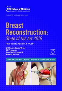Breast Reconstruction:
