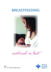 BREASTFEEDING. natural is best