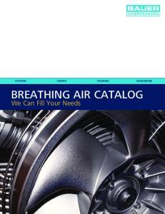 BREATHING AIR CATALOG