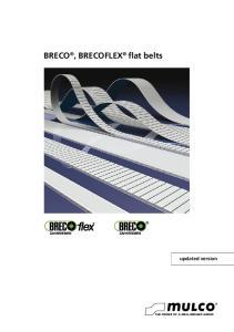 BRECO, BRECOFLEX flat belts