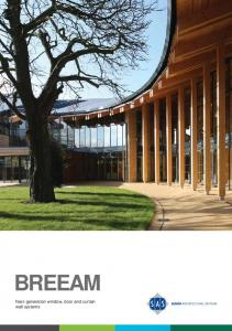 BREEAM Next-generation window, door and curtain wall systems