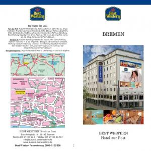 BREMEN. BEST WESTERN Hotel zur Post