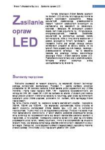 Breve Tufvassons Sp.zo.o. Zasilanie opraw LED