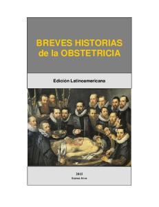 BREVES HISTORIAS de la OBSTETRICIA