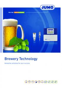 Brewery Technology. Innovative solutions for your success