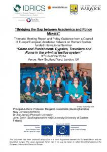 Bridging the Gap between Academics and Policy Makers