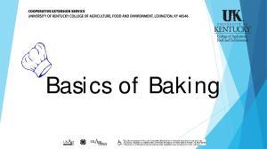 Brief history of baking:
