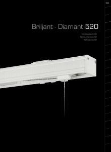 Briljant - Diamant 520. Optreksysteem 24V Stores Americain 24V Raffsysteme 24V
