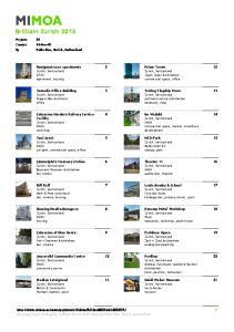 Brilliant Zurich 2015.Projects 20