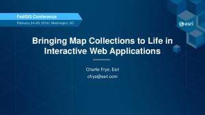 Bringing Map Collections to Life in Interactive Web Applications